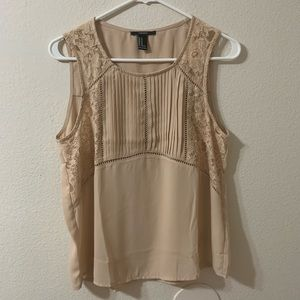 Nude Blouse.